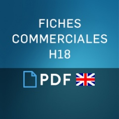 Fiches commerciales H18 UK