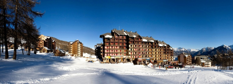 residence-club risoul vue-hivernale hiver4